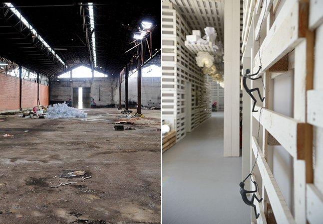 Antigo armazém em Lisboa vira escritório sustentável com mais de 1700 pallets reciclados