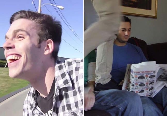 Vídeos divertidos mostram como seriam os seus amigos humanos se eles se comportassem como cães ou gatos