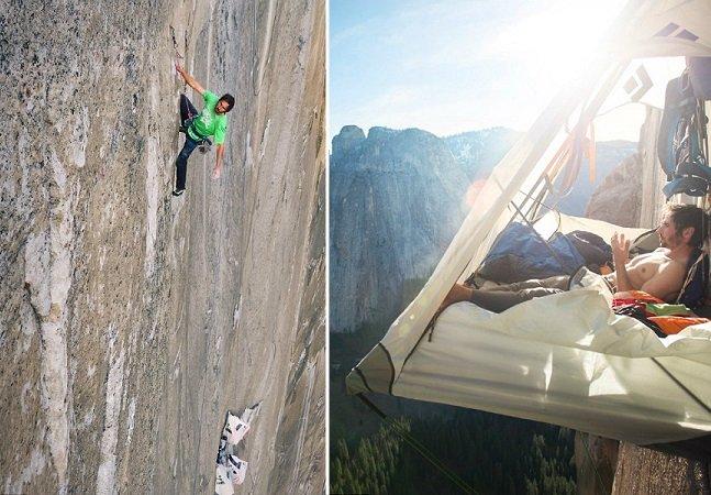 """Conheça os dois homens que completaram a """"escalada mais difícil do mundo"""""""