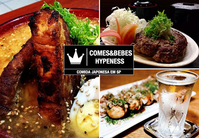 Comes&Bebes Hypeness: 9 izakayas para beber e comer bem em SP