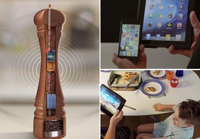 O moedor de pimenta inteligente que bloqueia automaticamente todos os gadgets na hora da refeição