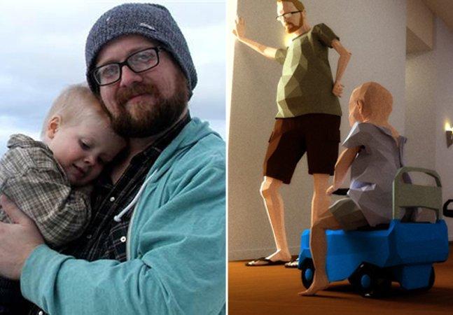 Pai cria jogo emocionante para homenagear filho de 4 anos que morreu de câncer
