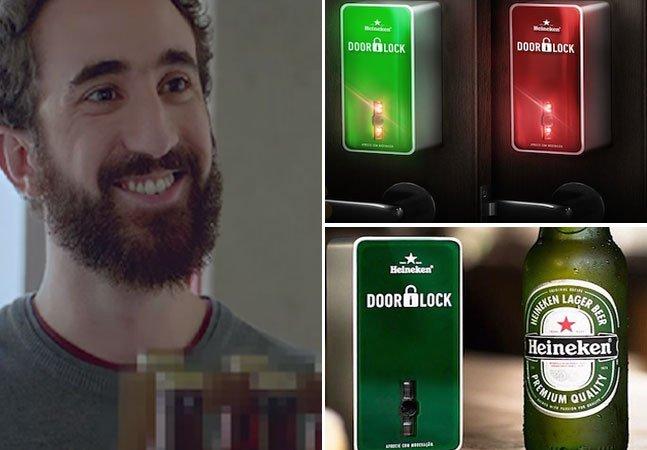 Fechadura inteligente só abre a porta para quem trouxer a cerveja certa