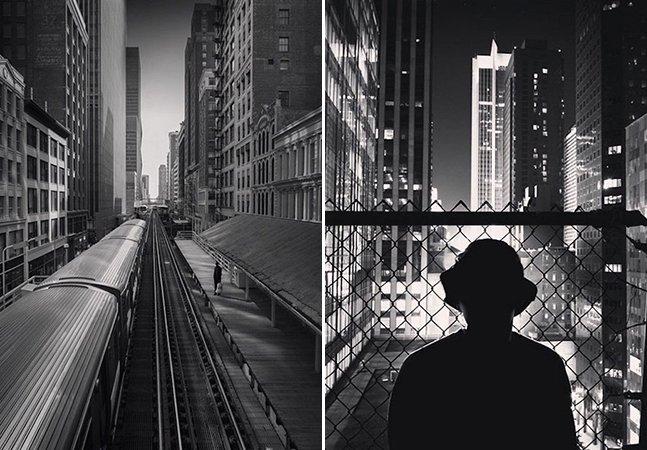 Fotógrafo clica belas imagens de cidades em preto e branco usando somente o iPhone
