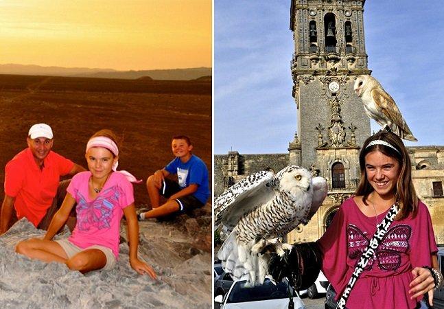 O que podemos aprender com esta garota de 13 anos que está há 4 viajando o mundo com a família