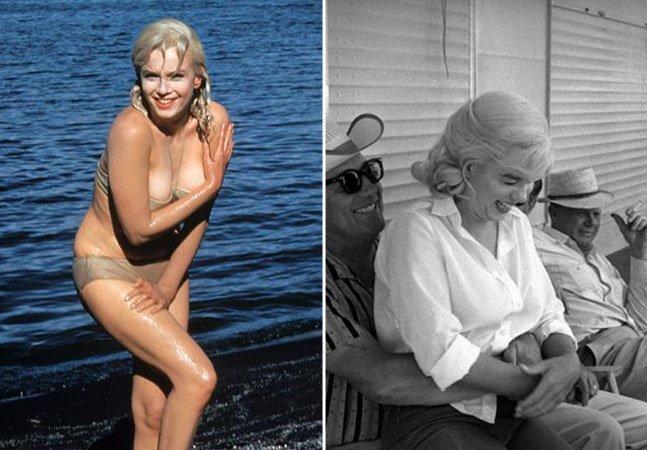 """Fotos raras mostram Marilyn Monroe no melhor estilo """"gente como a gente"""""""