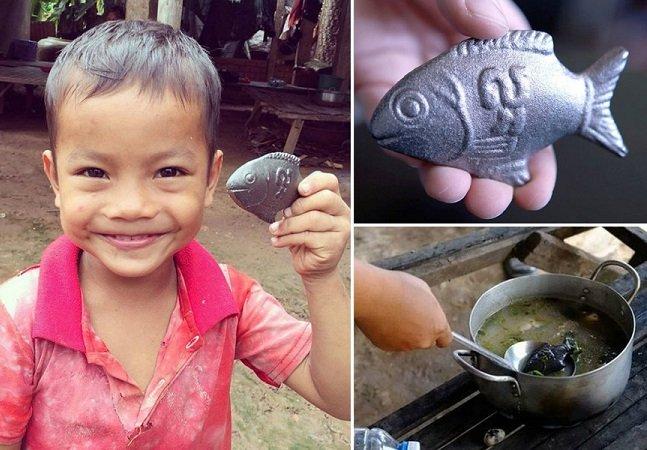 Como um peixe de ferro tem ajudado a salvar vidas