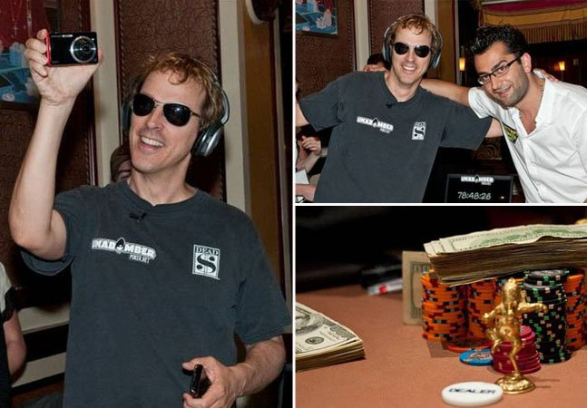 O homem que passou 115 horas seguidas jogando Poker para ajudar pessoas doentes e suas famílias