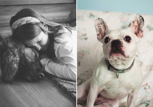 Fotógrafo cria série retratando pessoas com seus animais domésticos em fase terminal