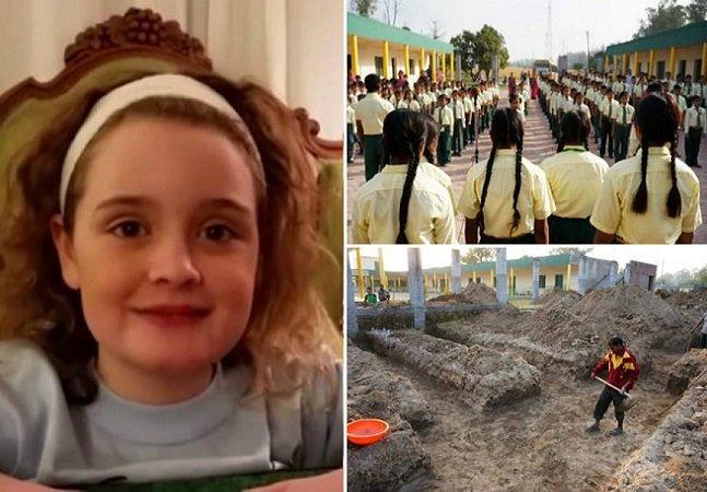 Garota de 10 anos cria campanha na Internet e arrecada dinheiro para reformar orfanato na Índia
