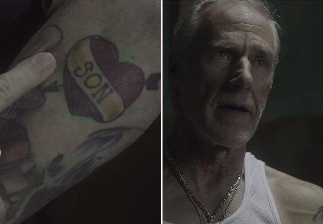 Curta mostra o que acontece com as suas tatuagens quando você fica velho