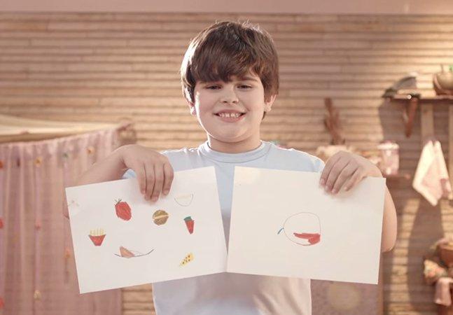Campanha alarmante mostra que crianças não conhecem legumes