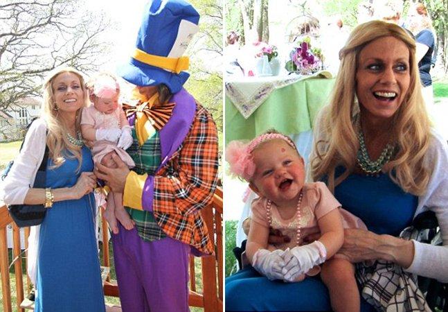 Mãe com doença terminal organiza a primeira festa de aniversário da filha para se despedir dela