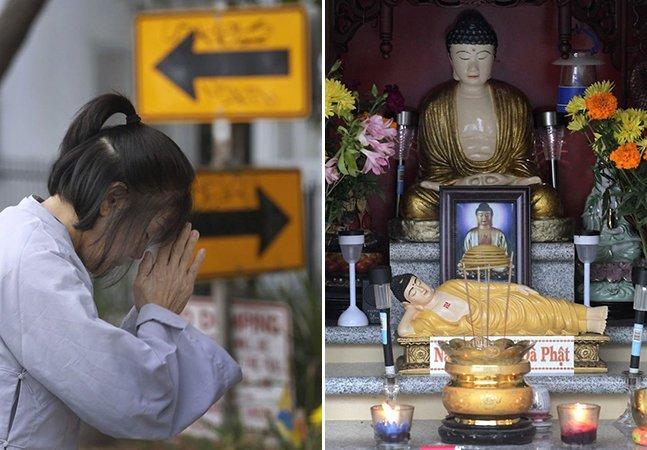Homem consegue reduzir criminalidade em sua vizinhança apenas com uma estátua de Buda
