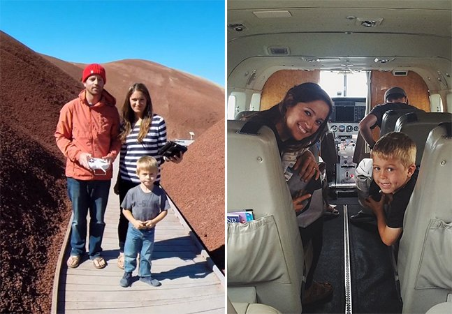 Família vende todos os seus bens para viver nas estradas dos EUA a bordo de um trailer