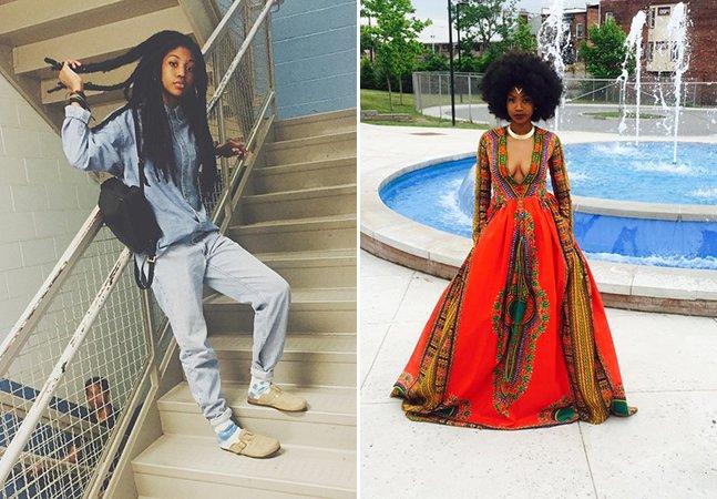 Adolescente supera bullying e cria seu próprio vestido para baile de formatura