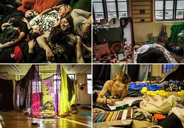 Fotógrafa mostra como é a vida nos squats londrinos