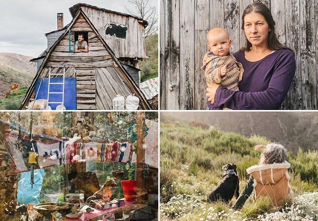 Fotógrafo retrata pessoas que vivem em comunidade isolada em meio à natureza na Espanha