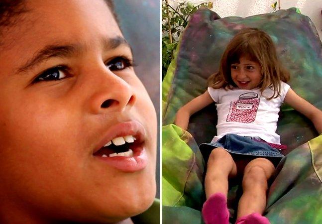 Campanha derruba preconceitos e mostra que não há diferença entre as crianças