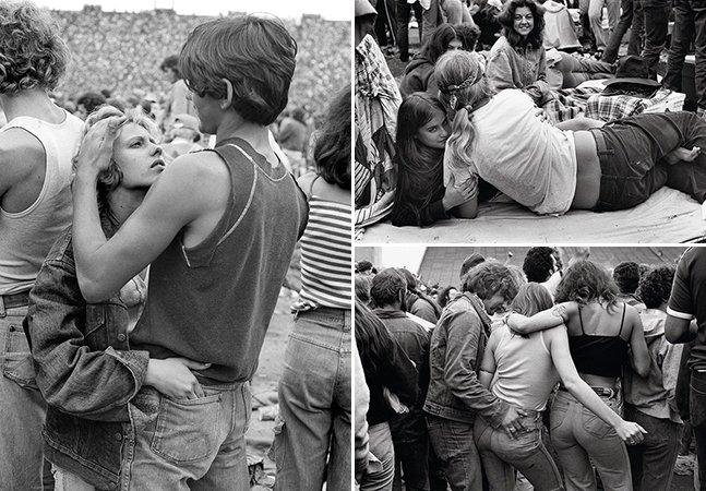 Série de fotos mostra como eram os jovens fãs de Rolling Stones em 1978