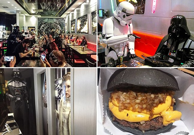 São Paulo ganha hamburgueria inspirada na saga Star Wars
