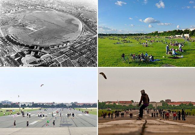 Aeroporto abandonado se transforma no maior parque de Berlim