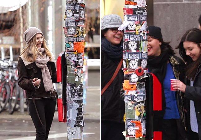 Marca troca botão de semáforo de pedestre por vending machine de café para conectar pessoas