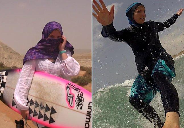 Documentário retrata o dia em que uma mulher surfou pela primeira vez no Irã