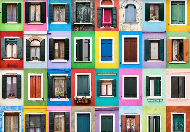 Fotógrafo capta a geometria de janelas de diferentes cidades pelo mundo