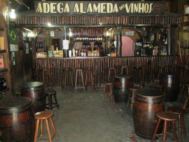 alameda dos vinhos