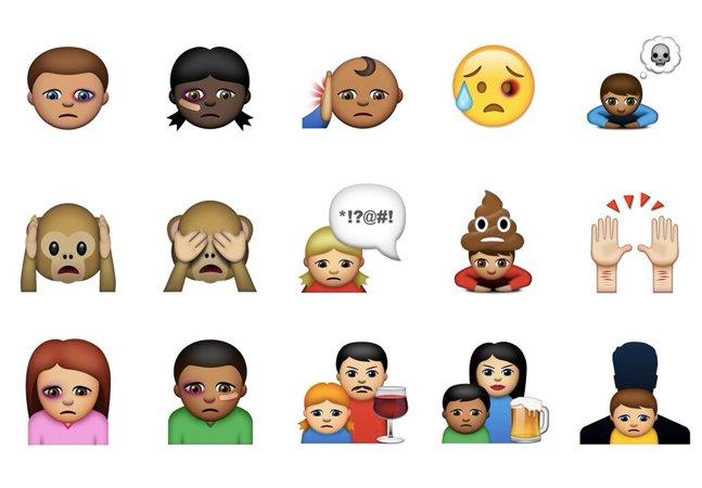 Empresa cria emojis personalizados para ajudar crianças a denunciar violência doméstica