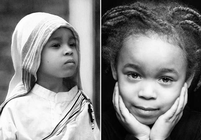 Pais vestem garota de 5 anos com roupas de heroínas para ensinar história e aumentar sua auto-estima