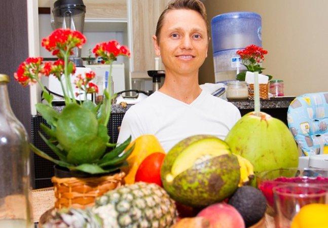 O que aconteceu com o homem que só come vegetais e frutas crus há 19 anos