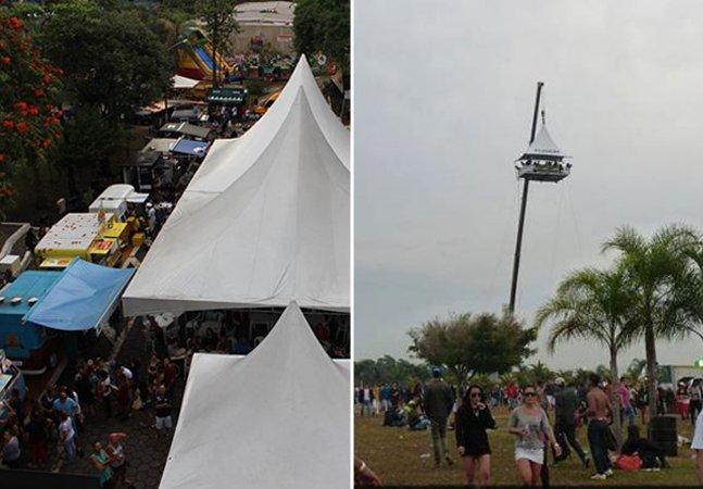 Festival de food trucks em SP terá bar a 40 metros de altura
