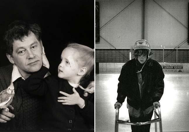 Fotógrafo retrata de forma sensível o cotidiano da filha com deficiências severas