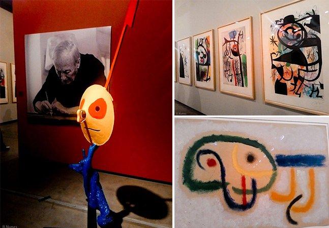 Fomos entender as obras abstratas de Joan Miró em exposição em SP