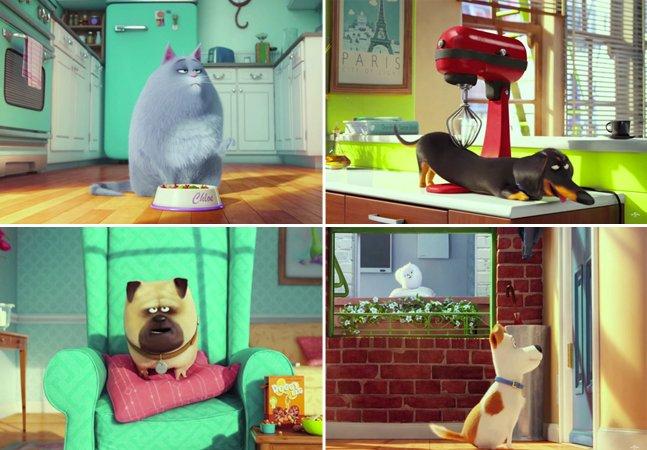 Nova animação da Universal mostra o que nossos pets fazem quando não estamos em casa