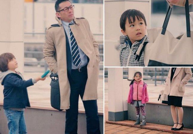 Como crianças reagem ao ver adultos deixando cair suas carteiras
