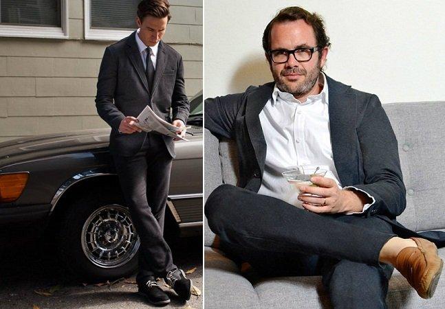 Designer cria roupa masculina que reúne calça, camisa e paletó numa peça só