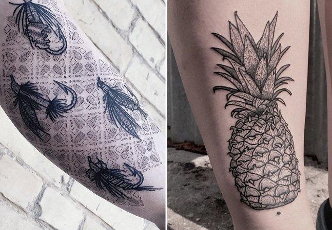 Conheça o pontilhismo e os traços precisos desta incrível tatuadora alemã