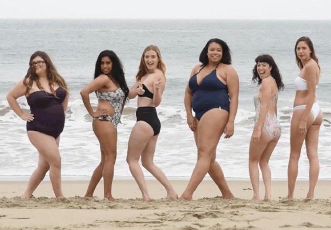Como os biquínis da Victoria Secret's ficariam em mulheres comuns