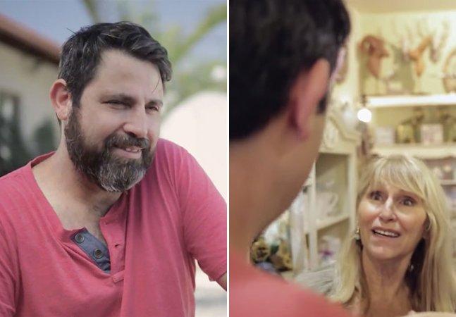 Campanha divertida mostra a diferença que a barba faz num homem