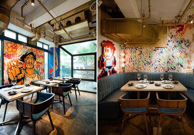 O restaurante que todo apaixonado  por street art precisa conhecer
