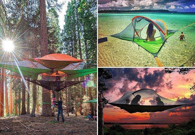 Essas barracas vão te dar vontade de sair para acampar agora mesmo