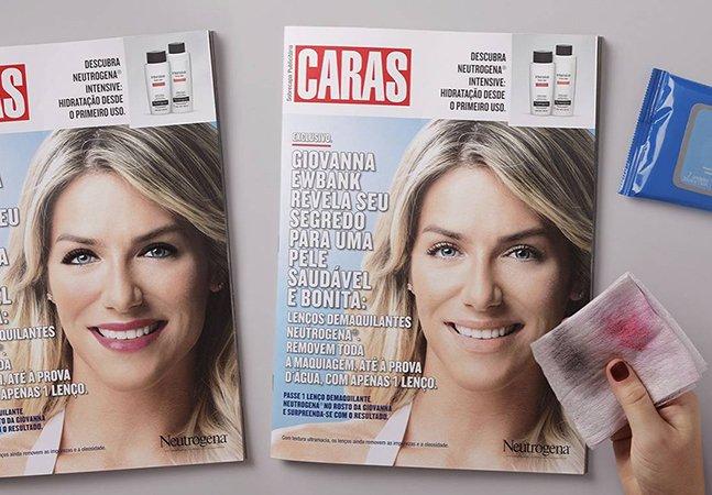 Capa de revista no Brasil permite que leitores removam a maquiagem  da modelo