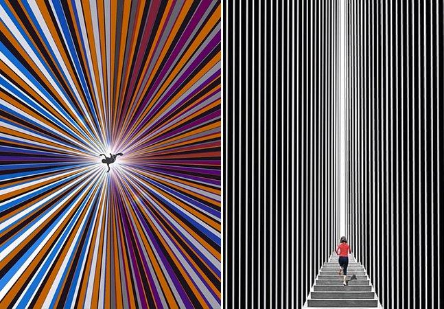 Artista tailandês chama atenção no Instagram com ilustrações minimalistas capazes de te hipnotizar