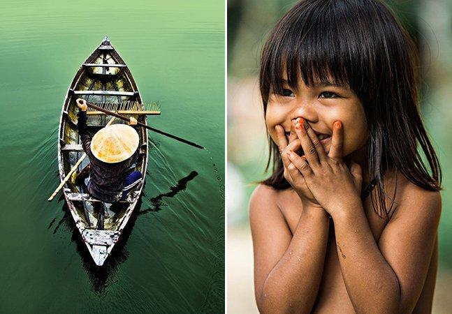 Série de fotos mostra a beleza das pessoas e paisagens de um vilarejo no Vietnã
