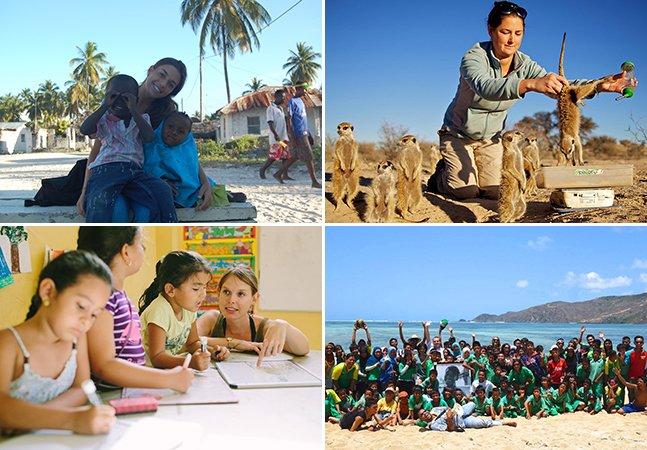 Site te ajuda a ajudar pessoas e viajar o mundo ao mesmo tempo