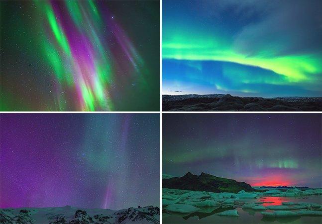 Cineasta registra tempestade solar na Islândia com timelapse incrível