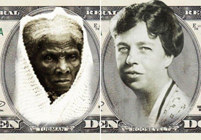 Pela primeira vez na história, cédula de 10 dólares tratá o rosto de uma mulher